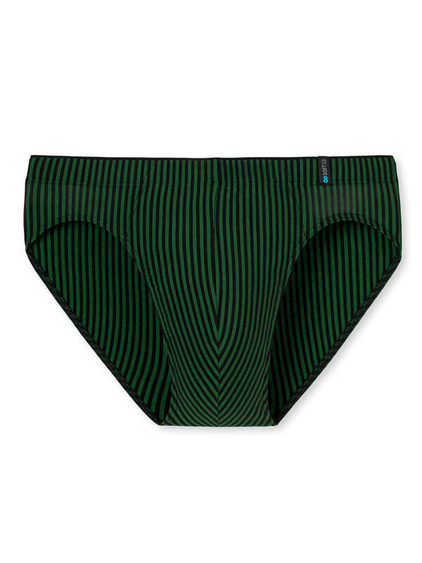 Schiesser Long Life Soft Supermini Brief grass-green