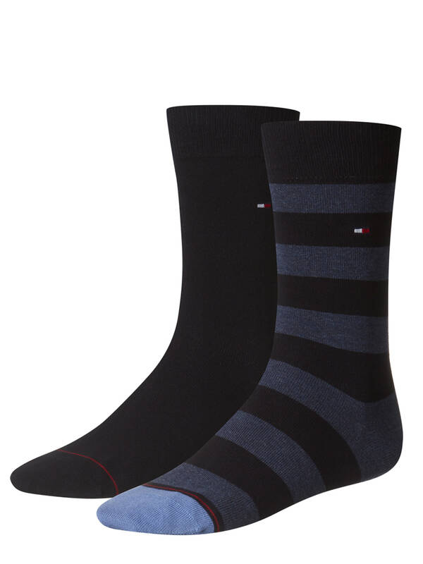 Tommy Hilfiger Men Rugby Socks 2erPack dark navy