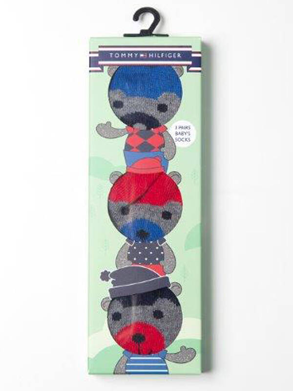 Tommy Hilfiger Baby's Socks 3erPack midnight blue
