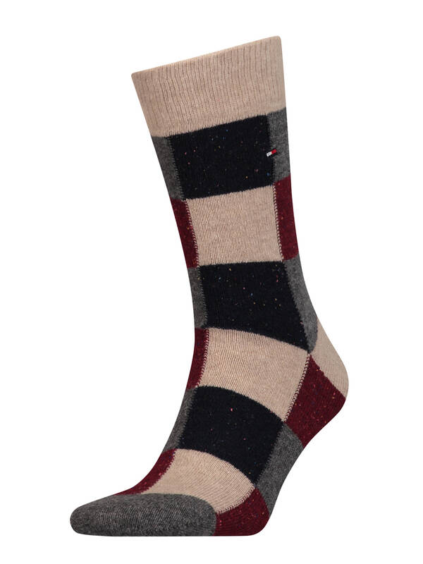 Tommy Hilfiger Fashion Men Socks winetasting
