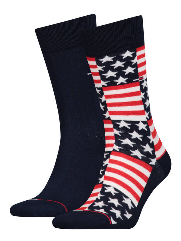 Tommy Hilfiger 2erPack Jeans Socks american